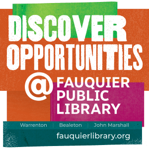 Discover Opportunities @ Fauquier Public Library