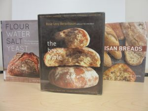 book covers featuring loaves of bread